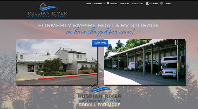 Russian River Covered RV Storage