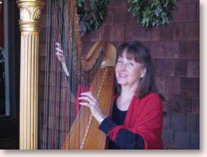 Sally Fletcher, Harpist