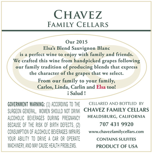 Chavez Family Cellars