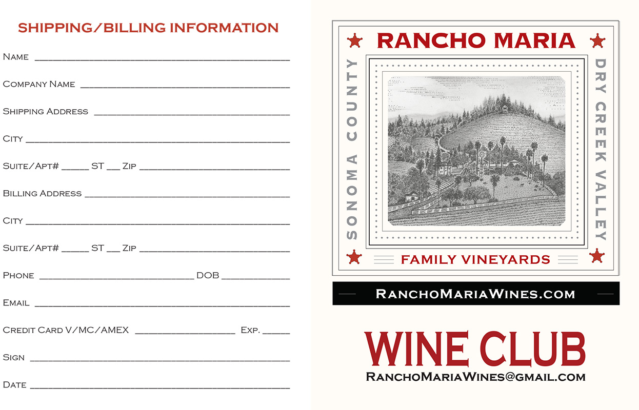 Rancho Maria Family Vineyards